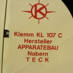 9 Klemm 107C D-EFOH Eutingen 2010