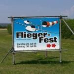 schild Fliegerfest klemm treffen