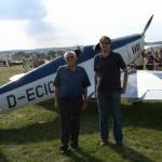Klemm KL 35 D-ECIC Vater und Sohn