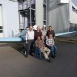 Das EJOL-Team wartet auf den Motor