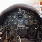 Klemm SK 15 115-8 Cockpit hinten Instrumente