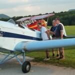 Hahnweide 4-1 Klemm 25 D-EJOL und schwedische Klemm Piloten